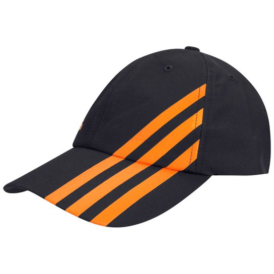 Boné Adidas Microfibra 3 - Chumbo+Laranja 6f635e9d0b274