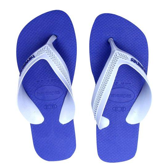 4ece155ba5 Chinelo Havaianas Infantil - Cinza e Azul - Compre Agora