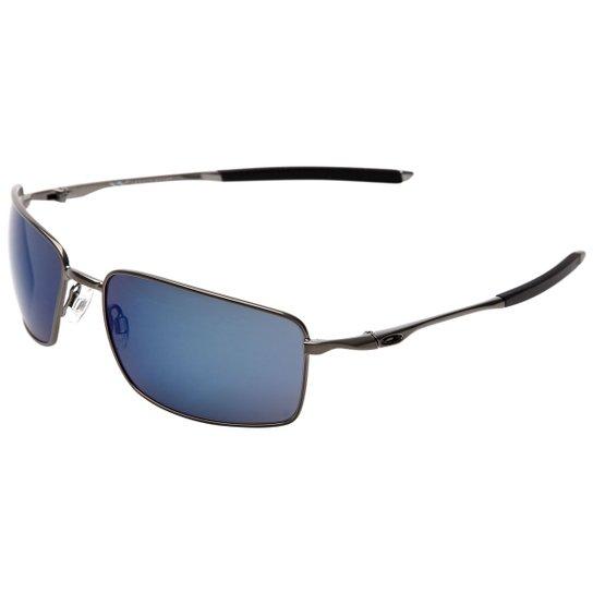 9ac28b6225a6b Óculos Oakley Square Wire - Iridium - Compre Agora
