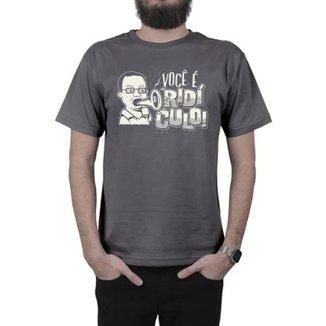 Camiseta Everaldo Marques Você É Ridículo 1d8734fe64e