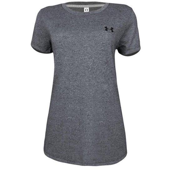 ae5f122239 Camiseta Under Armour Threadborne Feminina - Chumbo - Compre Agora ...