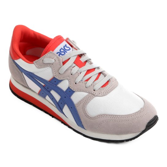 0227e0e844f03 Tênis Asics Tiger Oc Runner Masculino - Cinza e Azul - Compre Agora ...
