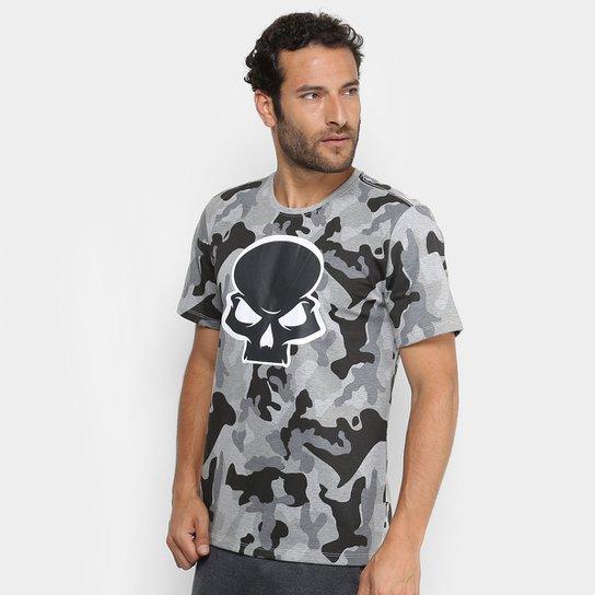 Camiseta Red Bull Skate Generation Camuflada Masculina - Chumbo e ... c046e869da4