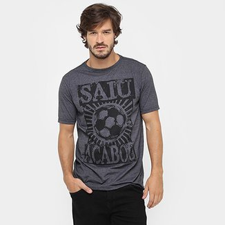 5c32196c281 Camiseta Gonew Saiu Acabou Masculina