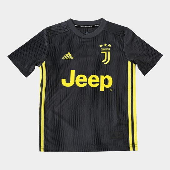 Camisa Juventus Infantil Third 2018 s n° - Torcedor Adidas - Compre ... f4217dfade73e