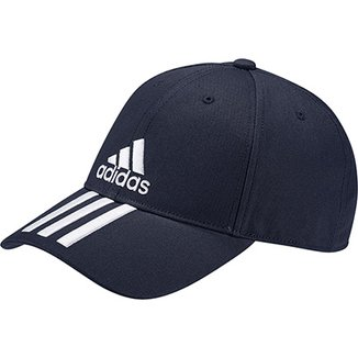 e460202ad4 Boné Adidas Ess 3 Stripes Cotton Aba Curva