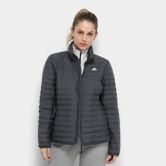 a976dc700aa Jaqueta Adidas Varilite Soft Feminina - Chumbo - Compre Agora