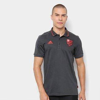 7e4b082fc718c Camisa Polo Flamengo 19 20 Adidas Masculina