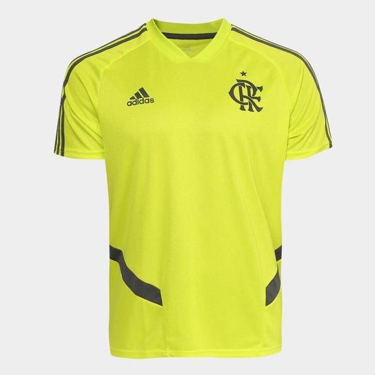 463ce0860d8e3 Camisa Flamengo Adidas Treino Masculina - Verde Limão - Compre Agora ...