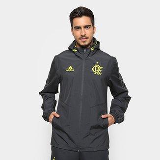 0a321ee11fb Jaqueta Flamengo Adidas Capuz Masculina