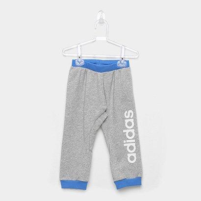 Calça Infantil Moletom Adidas Lin Pant