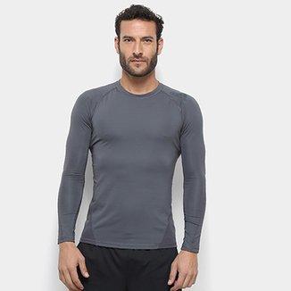 0295f9dfcd Camiseta Adidas Alphaskin Sport Manga Longa Masculina