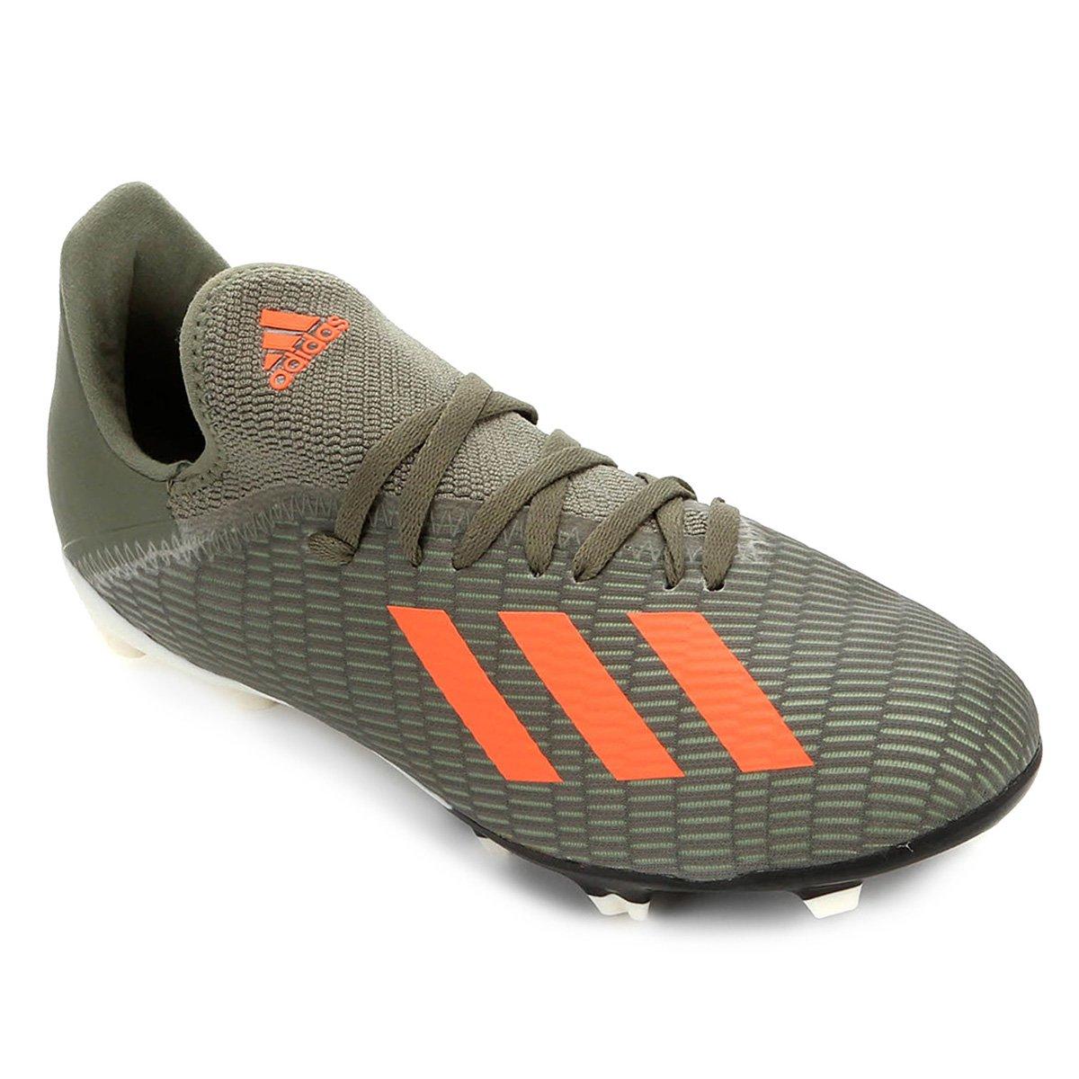Chuteira Campo Juvenil Adidas X 19 3 FG