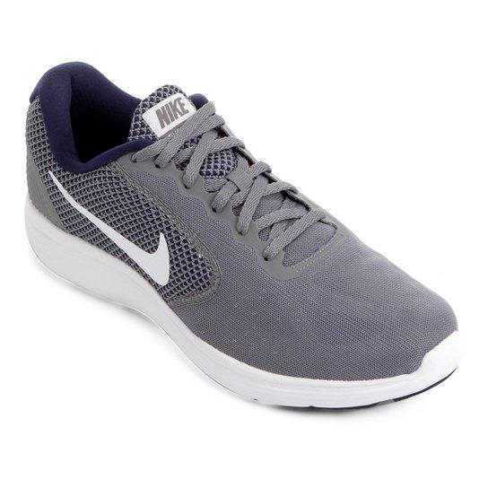 5d8001831d Tênis Nike Revolution 3 Masculino - Cinza+Azul