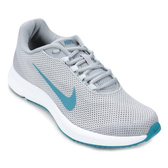 0f262fb935e87 Tênis Nike Runallday Feminino - Cinza e Azul - Compre Agora Netshoes  5763e8e7c76324 ...