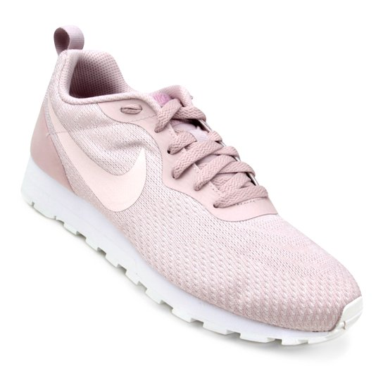 20774fb821f Tênis Nike Md Runner 2 Eng Mesh Feminino - Rosa Claro - Compre Agora ...