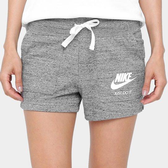 3a045a5ff10 Short Nike Gym Vintage Feminino - Chumbo - Compre Agora