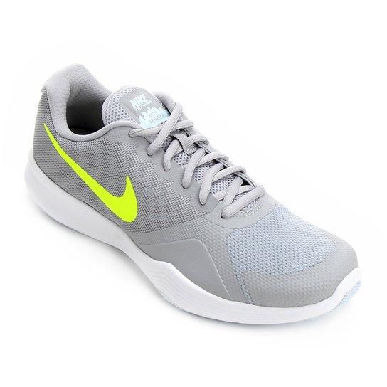Tênis Nike City Trainer Feminino - Cinza e Amarelo - Compre Agora ... 49676562cf58f
