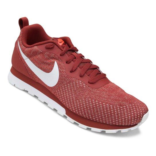 6ebf1fc5664 Tênis Nike Md Runner 2 Eng Mesh Masculino - Vermelho Escuro - Compre ...