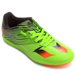 636a87c8e4d65 Chuteira Adidas Messi 15 3 IN Futsal Juvenil