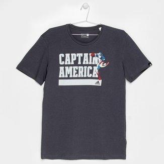 Compre Camiseta do Capitao America Null Online  354467494c2c0