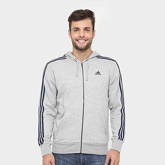 8375aaffa58 Moletom Adidas Essentials 3S French Terry C  Capuz