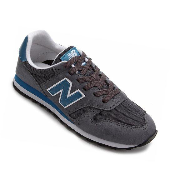 4f54e5364ef15 Tênis New Balance 373 Core Masculino - Cinza e Azul | Netshoes