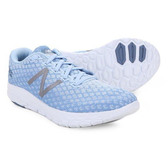 finest selection 1e0ca 62144 Tênis New Balance Beacon Feminino - Azul+Cinza