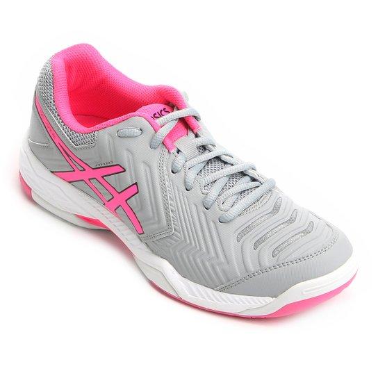 0795c405ca Tênis Asics Gel Game 6 Feminino - Cinza e Pink