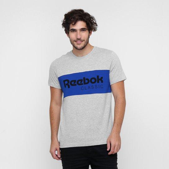 0b0de531687 Camiseta Reebok Classic Archive Stripe - Compre Agora