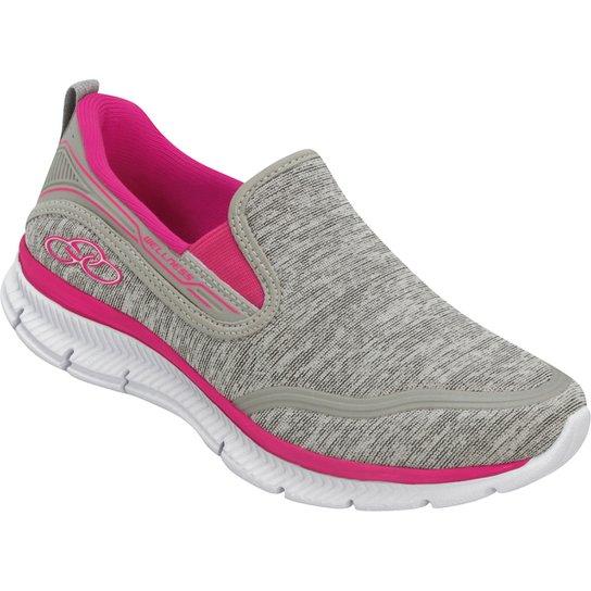 dfbea90231 Tênis Infantil Olympikus Wellness - Cinza e Pink