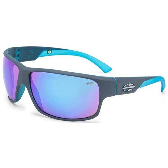 da0b633eb Óculos Sol Mormaii Joaca 2 445D6997 Cinza Com Azul - Cinza+Azul