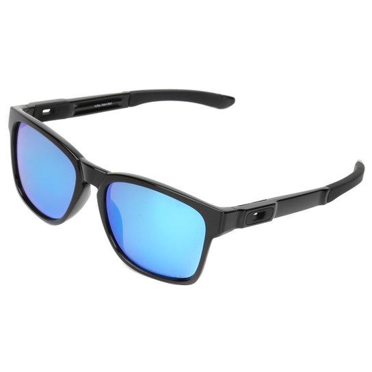 Óculos Oakley Catalyst Masculino - Preto e Azul claro - Compre Agora ... 329b644703