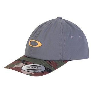 Boné Oakley Aba Reta Mod 6 Panel Military Hat 8e432c54792
