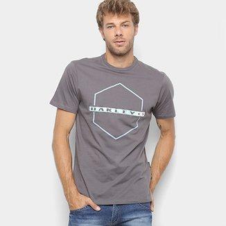 Camiseta Oakley Mod Crossing Hex Masculina 85e37fe62b5