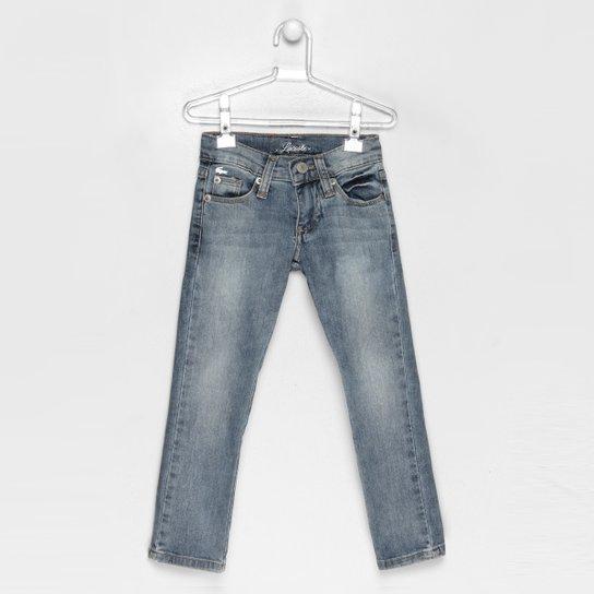 Calça Lacoste Denim Infantil - Compre Agora   Netshoes 23055a7cae