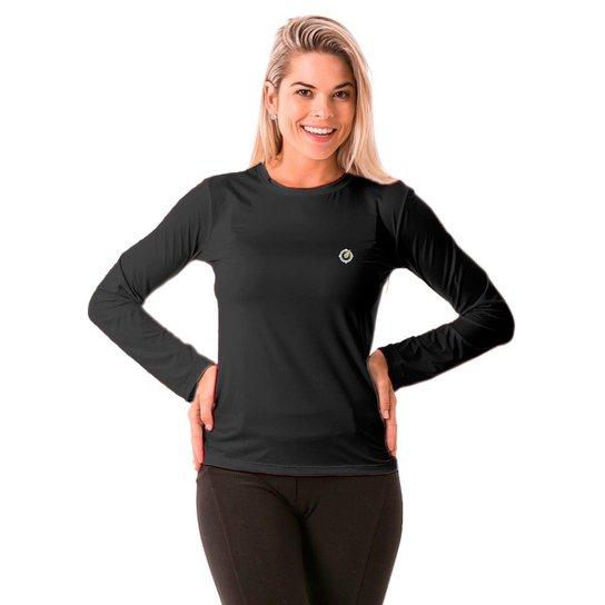 1d1308cfee Camisa Térmica para Frio Manga Longa com Proteção Solar Extreme UV - Chumbo