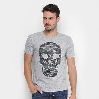 Camiseta Opera Rock Caveira Masculina cbfaf03478b
