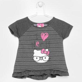a1a6013a2d7 Camiseta Hello Kitty Estampada