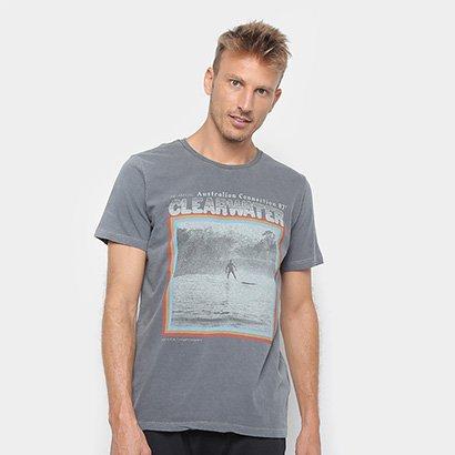 b04da61306 Camiseta Redley Tinturada Silk Clear Water Masculina