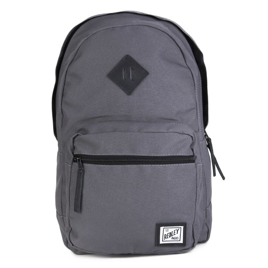 c105212dd Mochila Redley Básica - Chumbo - Compre Agora | Netshoes