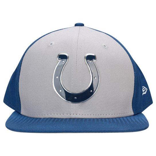 fb62a763f1 Boné New Era NFL 950 Draft Colletion Indianapolis Colts - Cinza e ...