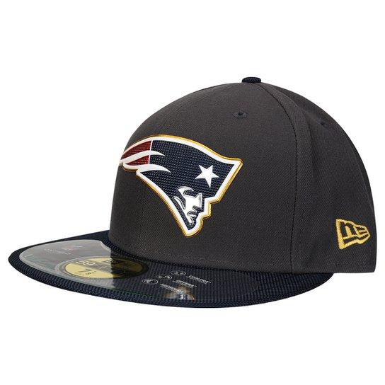 Boné New Era 5950 NFL Thanksgiving Sideline New England Patriots - Chumbo dbee59c33e9