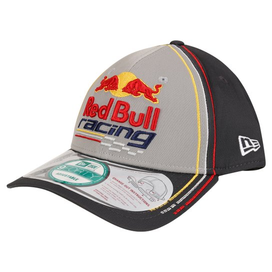 Boné New Era Red Bull Rbr Sc 940 Int Linhas Color Gra - Compre Agora ... 3afcb858d21