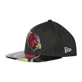 Boné New Era Arizona Cardinals Aba Reta 950 Original Fit Sn On Stage  Masculino afa6736977d