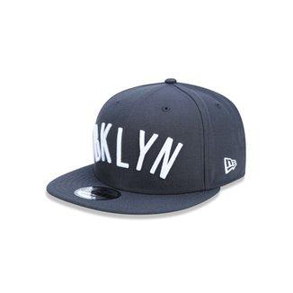 Boné 950 Brooklyn Nets NBA Aba Reta Snapback New Era 4d84d341599