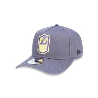 Boné 940 A-frame Los Angeles Lakers NBA Aba Curva New Era 5c22d8d2d21