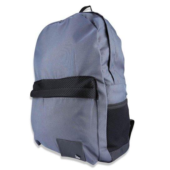Mochila Básica Branded New Era - Chumbo - Compre Agora  f8f88a2b767