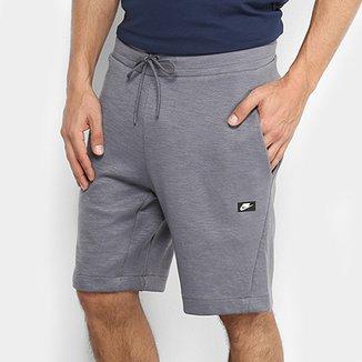 70c763749ab85 Bermuda Nike Sportswear Optic Fleece Masculina