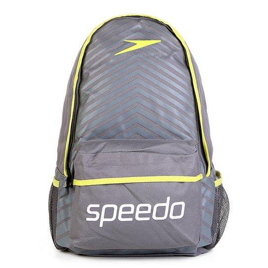 Mochila Speedo Essential Sport - Chumbo - Compre Agora  05527f2c804